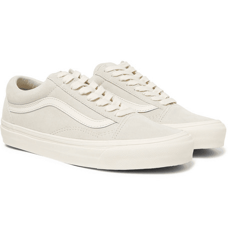 Vans | Og Old Skool Lx Leather trimmed Suede Sneakers | Off