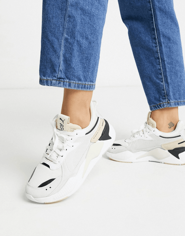 Puma RS-X Reinvent trainers in beige